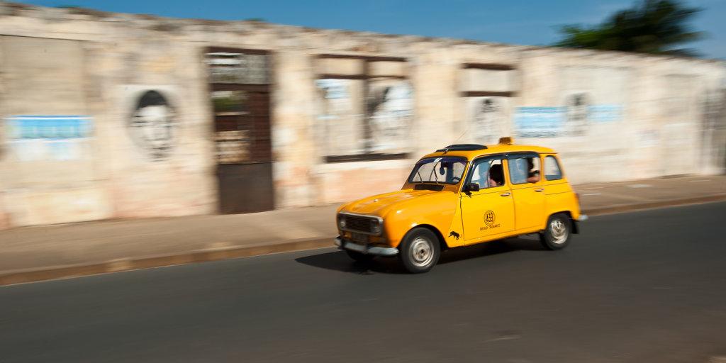 Taxi at Diego-Suarez (Antsiranana)