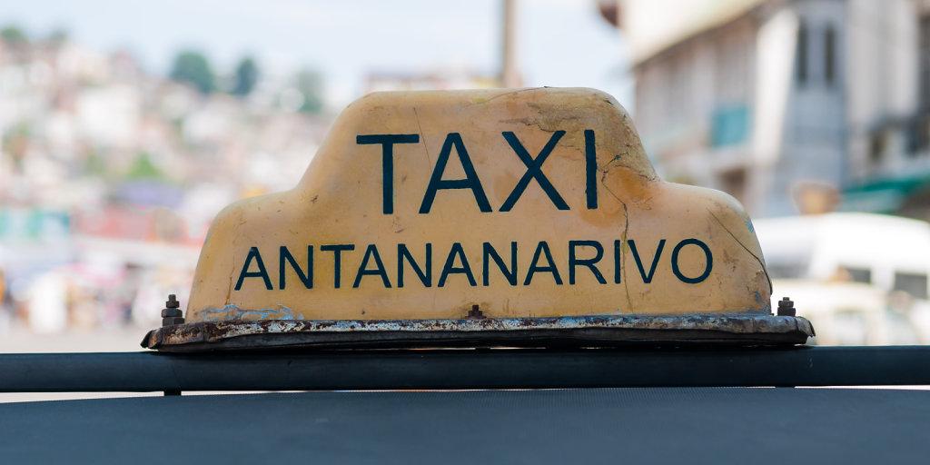 Taxi at Antananarivo