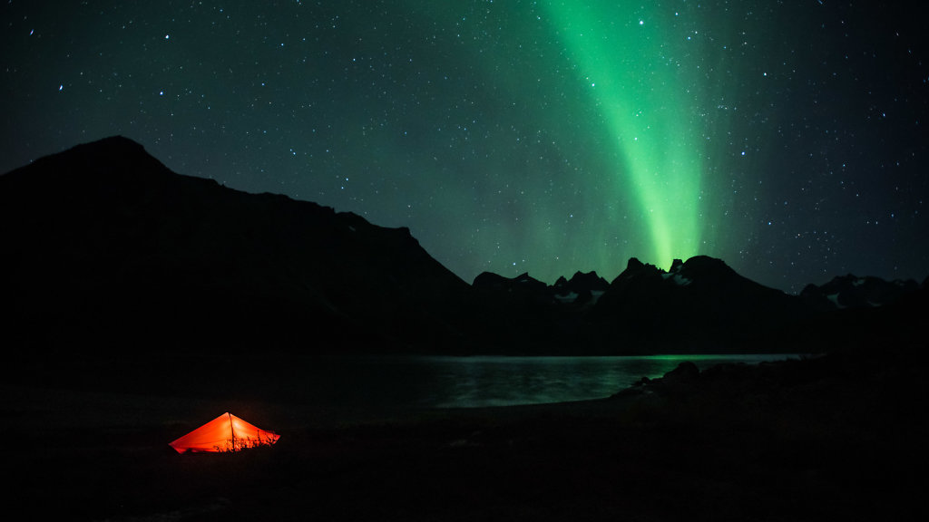 Aurora Borealis over Tasermiut