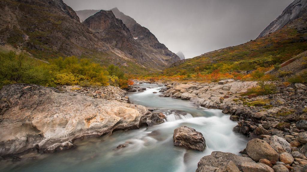 Stream in Qinnguadalen